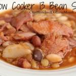Slow Cooker 13 Bean Soup Recipe