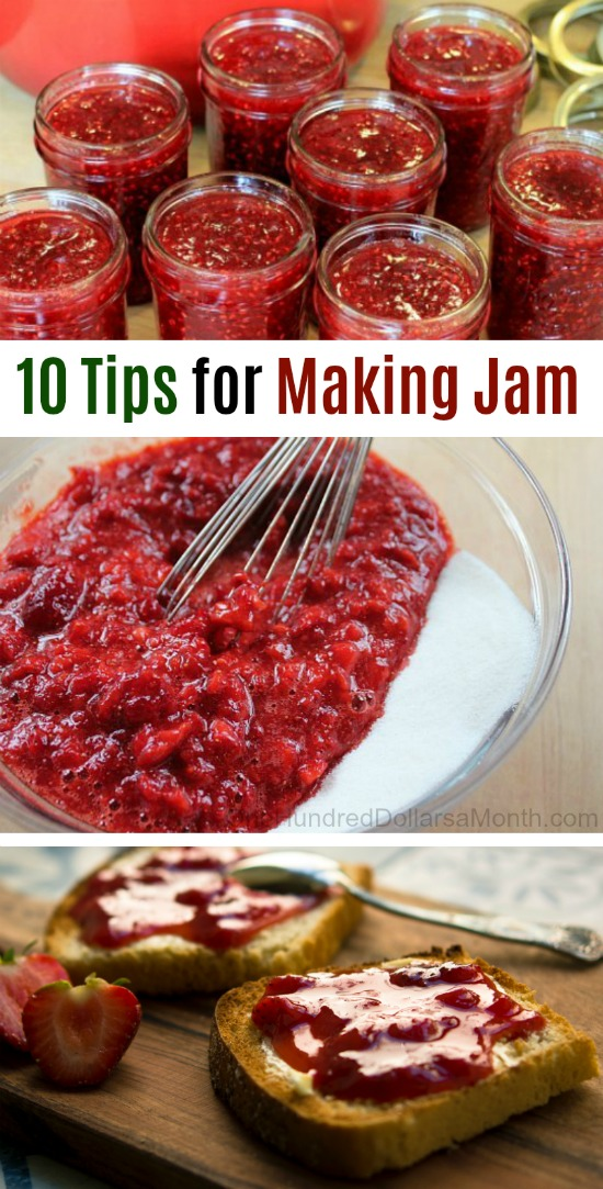 10 Tips for Making Jam