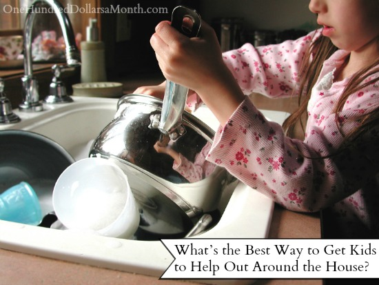 What's the Best Way to Get Kids to Help Out Around the House?