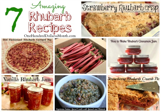 Recipes: The Best Rhubarb Recipes