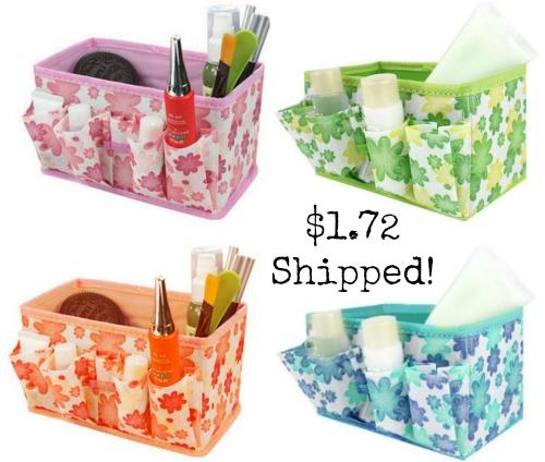 foldable make up bags