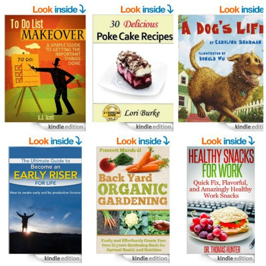 Free Kindle Books, Memorial Day Sales, Grill Set, Daisy Cut Out Lids and More