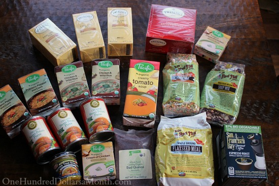 groceries from vitacost