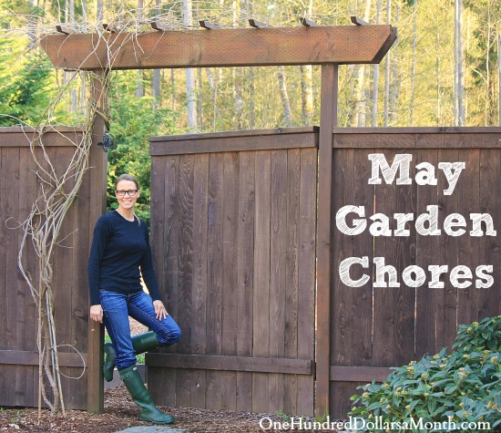 Monthly Garden Chores – May