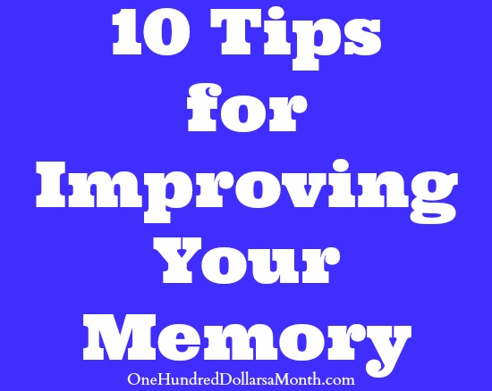 Memory improving technique