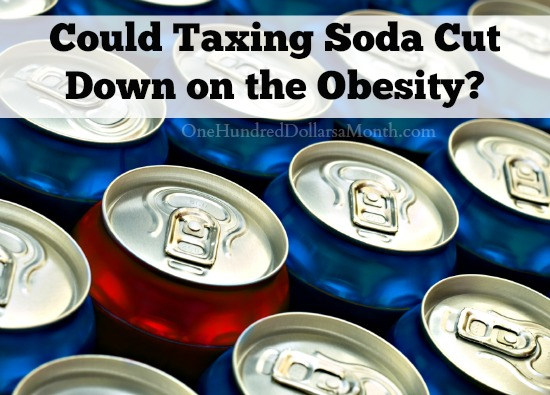 Could Taxing Soda Cut Down on the Obesity?