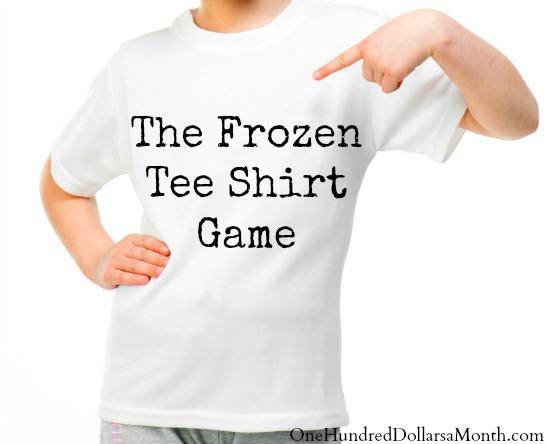 Frozen Tee Shirt Game – Fun Summer Activities for Teens