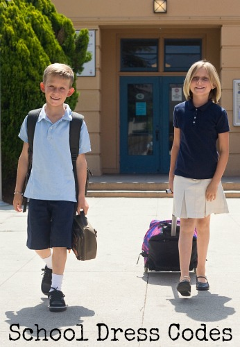 Back to School:  School Dress Codes