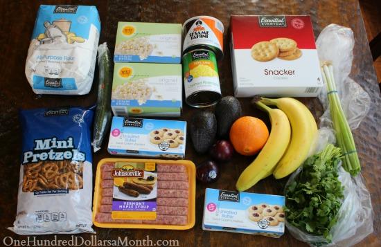 albertsons grocery shopping trip