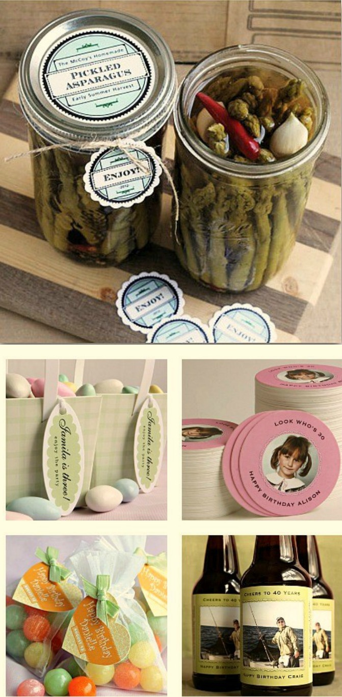 Calling all Martha Stewart Wannabes – Custom Canning Labels As Low As $.15 Each!