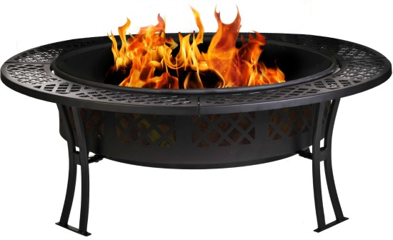 fire pit with cover