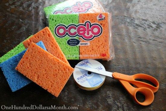 How to Make a Sponge Ball