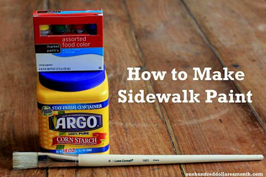 how-to-make-sidewalk-chalk-paint