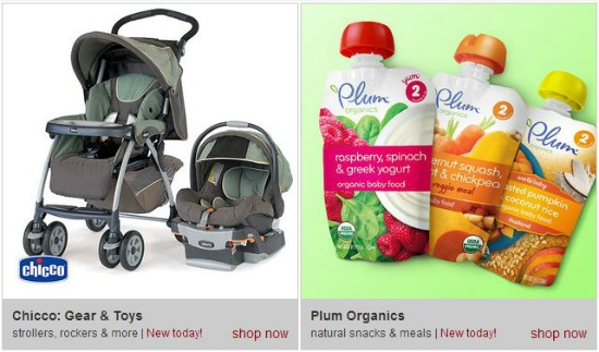 plum organics baby food deals