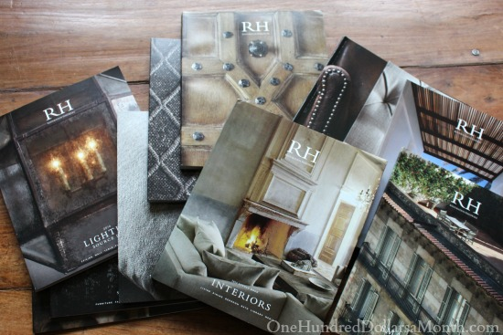 restoration hardware catalogs 2014