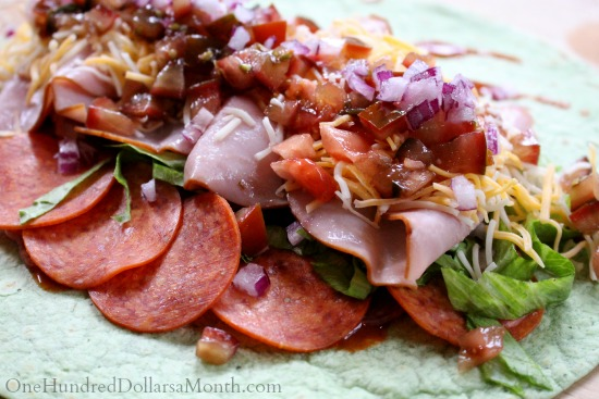 Easy Spicy Italian Wrap Recipe