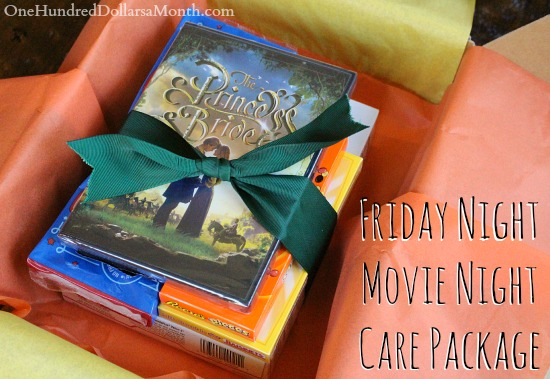 Care Packages for College Students – Friday Night Movie Night