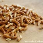 broken pretzel bits