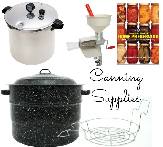 canning supplies