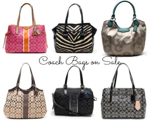 coach bags on sale