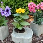 Easy Milk Carton Concrete Planters