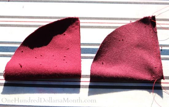 make a berry pin cushion