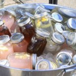 Clever Way to Store Cold Drinks – Canning Jars