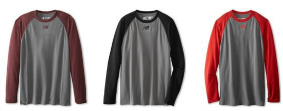 new balance baseball tees