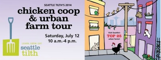 Seattle Chicken Coop and Urban Farm Tour 2014