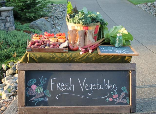 Turn Your Garden Produce Into Cash