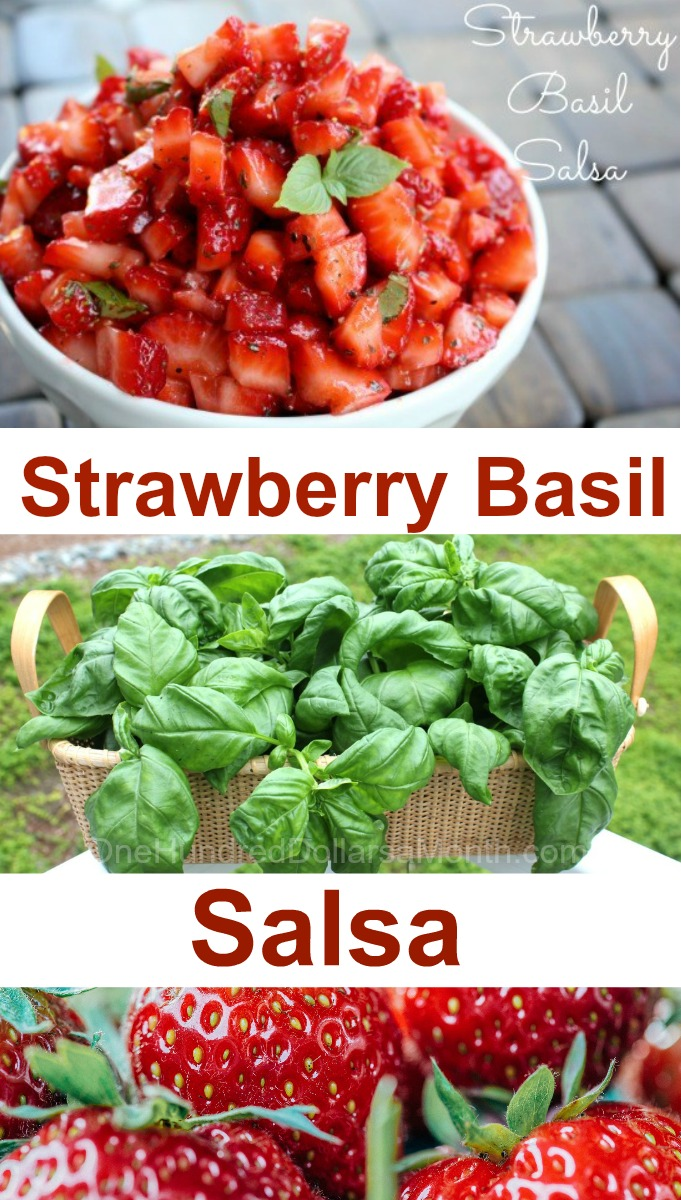Strawberry Basil Salsa
