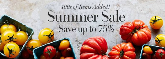 williams sonoma summer sale