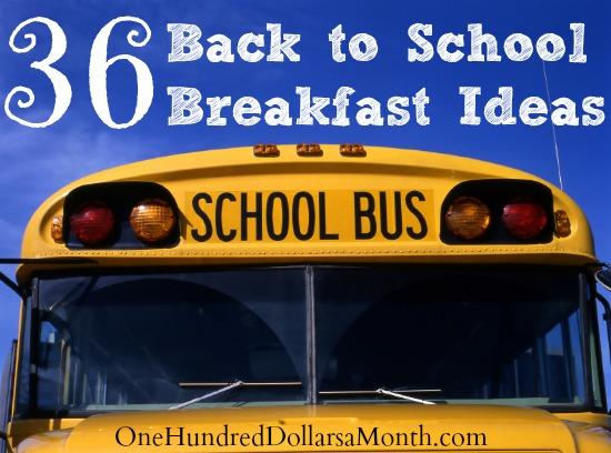36 Back to School Breakfast Ideas