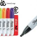 sharpie chisel tip markers