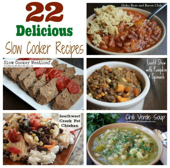22 Slow Cooker Recipes to Help Make Dinner Stress-Free