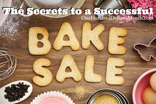 The Secrets to a Successful Bake Sale