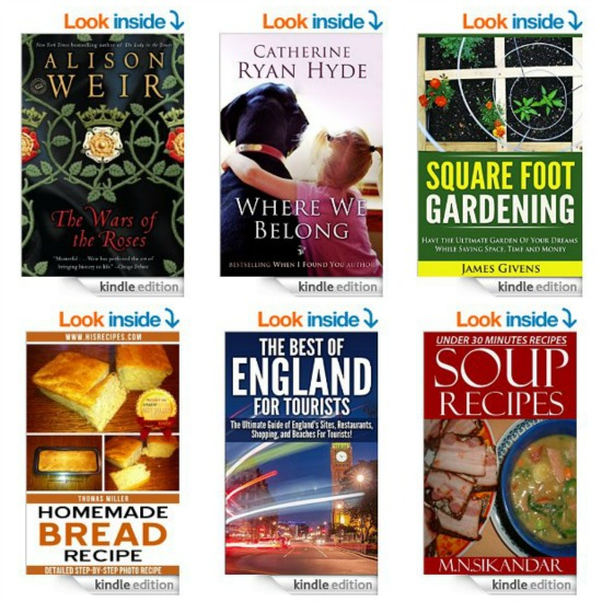 free kindle books gift bags scarves ear buds coupons