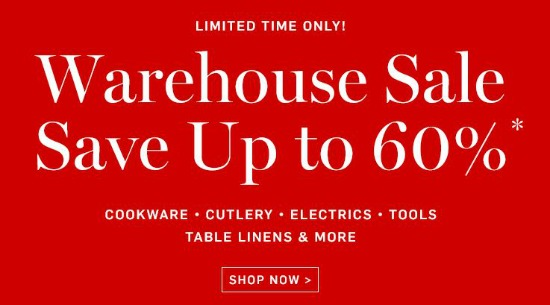 williams sonoma sale