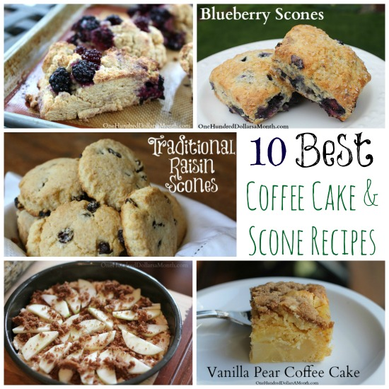 The 10 Best Coffee Cake and Scone Recipes