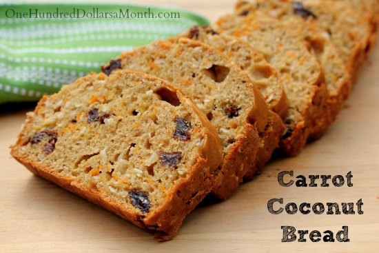 Carrot-Coconut-Bread