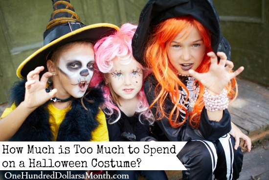 How Much is Too Much to Spend on a Halloween Costume
