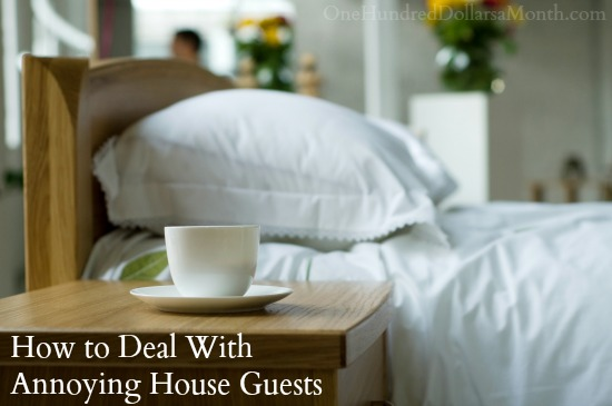 How to Deal With Annoying House Guests