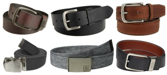 Mens leather belts