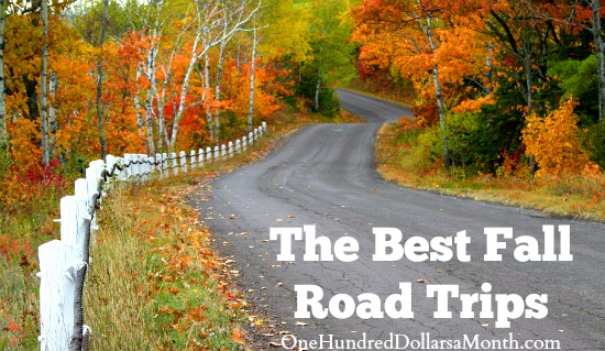 The Best Fall Road Trips