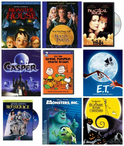 Friday Night at the Movies – Top 10 {Kid Friendly} Halloween Movies