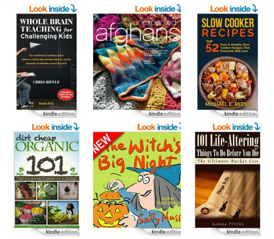 Free Kindle Books, Halloween Loot, Orange Juice Coupon, Sports Bras, Recipes and More