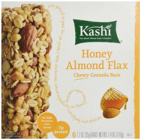 kashi honey almond bars