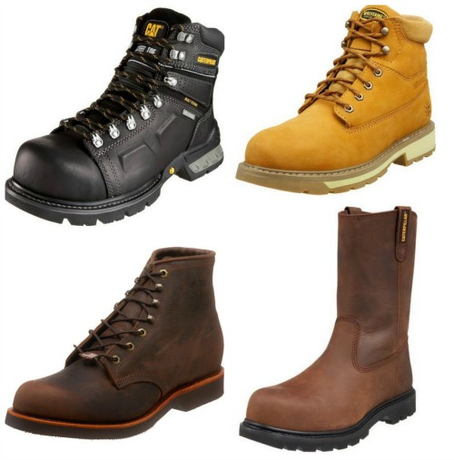 steel toe work boot deals