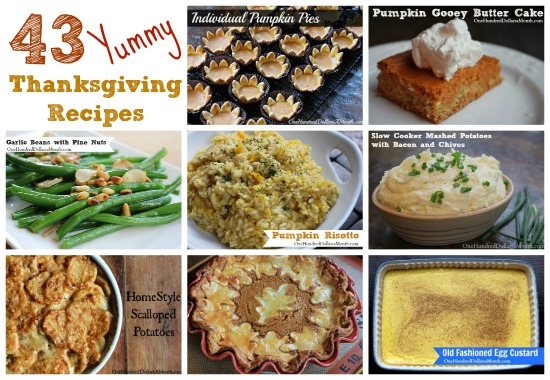 43 Recipes for Your Thanksgiving Feast