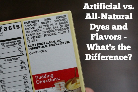 Artificial vs. All-Natural Dyes and Flavors – What's the Difference?